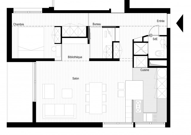 Plan Renovation appartement Vincennes