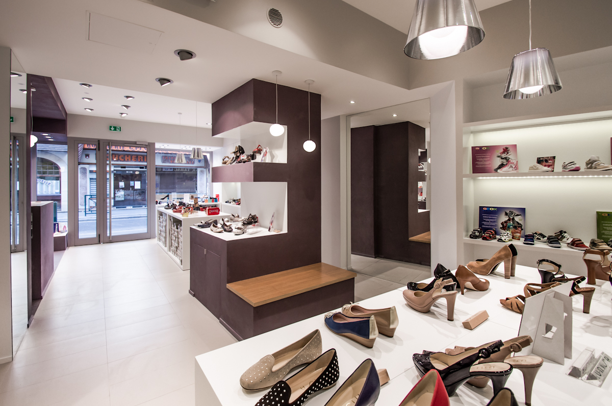 équipement, intérieurs, projets, réalisés Concept Store