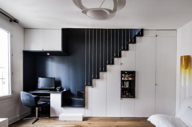 renovation appartement paris 11 escalier design
