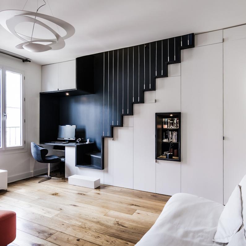 R novation d 39 un appartement paris 11 atelier mep for Appartement atelier